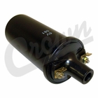 ( J0649712 ) Ignition Coil, All Jeep & Willys Models 1941-1959 With 6 Volt Electrical System by Crown Automotive