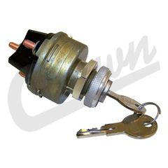 ( 924918 ) Ignition Switch With Key Start, fits 1954-1966 Models with Screw on Terminals  by Crown Automotive