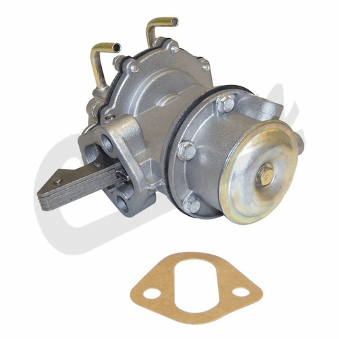 ( J0120206 ) Replacement Fuel Pump with Vacuum, fits 1953-1971 CJ3B, CJ5 and CJ6 with 4-134 F- Head Engine by Crown Automotive