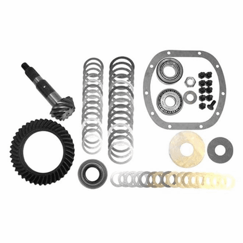 ( J0945345 ) Ring & Pinion set 3:73 Ratio, 1972-1986 Jeep CJ5, CJ7, CJ8 w/ Model 30 Front Axle by Crown Automotive