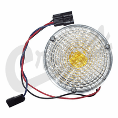 ( J0989852 ) Parking Lamp and Turn Signal Assembly, fits 1967-1975 Jeep CJ5, CJ6, C101, C104 by Crown Automotive