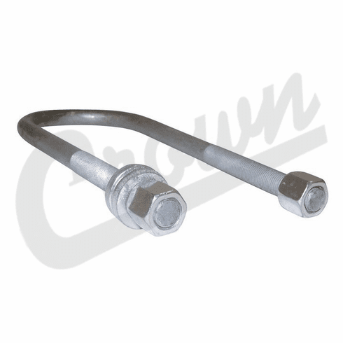 ( J0999210 ) Rear Spring U-Bolt, 1/2″ Threads, Dana 44 Axle, 1948-1986 Jeep CJ & C-104, 1952-1966 M38A1 by Crown Automotive