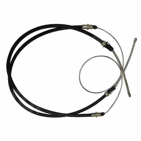 ( J0999895 ) Rear Parking Brake Cable for 1972-1973 C104 Jeep Commando, 107″ Long by Crown Automotive