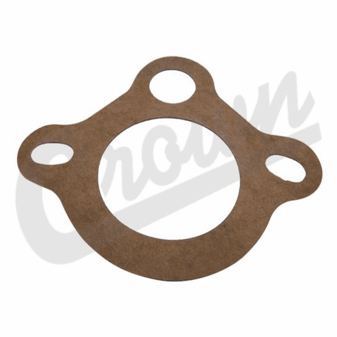 ( J3187543 ) Thermostat Housing Gasket, fits 1972-1981 Jeep CJ, C104 Commando w/ 5.0L 304 Engine by Crown Automotive