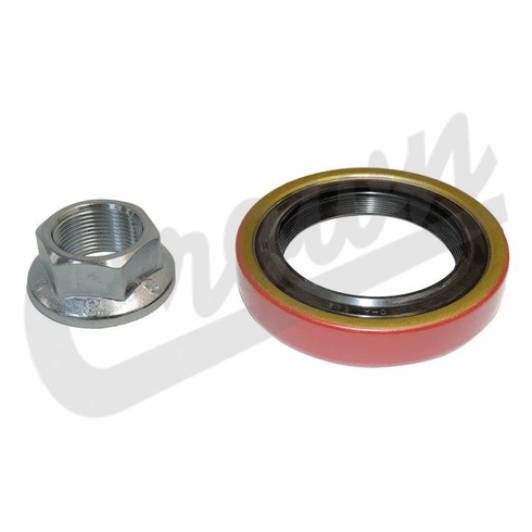 ( J3208474 ) Pinion Oil Seal with Nut, For 1976-86 Jeep CJ5, CJ7, CJ8 with AMC Model 20 Rear Axle By Crown Automotive