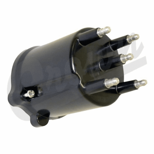 ( J3234451 ) Distributor Cap for 1983-90 Jeep CJ, Wrangler YJ and 1984-90 Cherokee XJ with 2.5L 4 Cylinder Engines By Crown Automotive