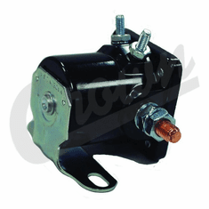 ( J3235898 ) Starter Relay for 1971-1987 Jeep Vehicles, 1972-1973 C104 Commando with Manual Transmission By Crown Automotive