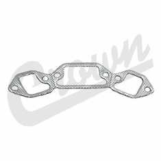 ( J3237270 ) Exhaust Manifold Gasket, 1971-81 Jeep Models with 5.0L 304 V8 and 1970-91 Models with 5.9L 360 V8 Engine  By Crown Automotive