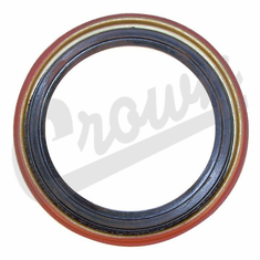 ( J3238137 ) Outer Oil Seal for Front Bearing & Hub, 1984-89 Jeep Cherokee XJ, 1987-89 Wrangler YJ By Crown Automotive
