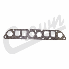 ( J3242854 ) Exhaust Manifold Gasket, 2.5L 4 Cylinder Engine, fits 1983-2002 Jeep Models By Crown Automotive