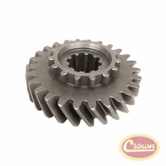 ( J5354506 ) Mainshaft Gear for 1962-79 Jeep Vehicles with Dana Spicer Model 20 Transfer Case & T150 Transmission By Crown Automotive