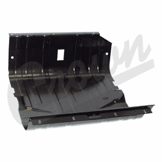 ( J5357023 ) Fuel Tank Skid Plate for 1976-86 Jeep CJ & 1987-90 Wrangler YJ with 15 Gallon Gas Tank by Crown Automotive