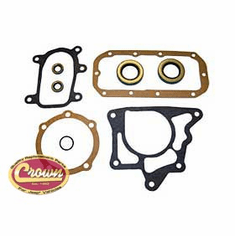 ( J8130995 ) Gasket and Seal Kit, fits 1963-79 Jeep CJ, C-101 Jeepster, J-Series & Wagoneer with Dana 20 Transfer Case By Crown Automotive