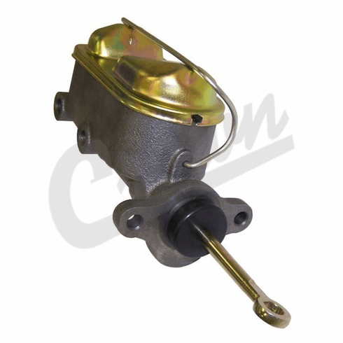 ( J8134270 ) Brake Master Cylinder, 1978-86 Jeep CJ without Power Brakes, with 2 Bolt Caliper By Crown Automotive