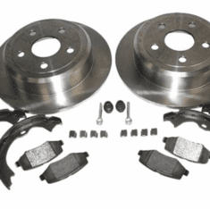 Jeep Brake Parts for 2007-2018 Wrangler JK & Unlimited JK