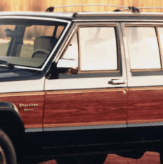 Jeep Cherokee XJ Glass