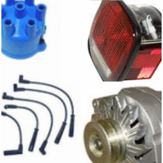 Jeep CJ5, CJ7, CJ8 Electrical Parts 1972-1986