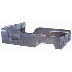 Jeep CJ6 Steel Body Tub, 1955-1971 CJ6, No Side Gas Fill, Has Cowl Vent.