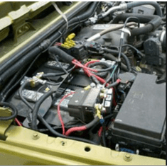 Jeep Dual Battery Trays