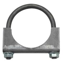 "Jeep Exhaust Clamp, 2-1/2"" Heavy Duty, Jeep CJ, Wrangler & Cherokee"
