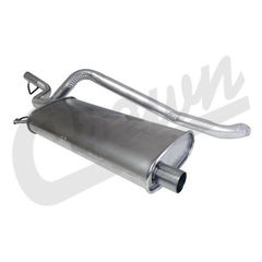 ( 52022039 ) Muffler & Tailpipe Kit for 1996 Jeep Cherokee XJ with 4.0L Engine by Crown Automotive