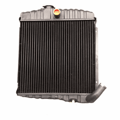 "( JEEPRAD-3 ) New 3 Row 17"" Radiator for 1965-1968 Jeep CJ5, CJ6 with 225 Dauntless V6 Cylinder Engines by MTS"