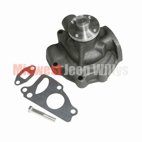 ( JWP-M37 ) New Replacement Water Pump for 1951-1968 Dodge M37, M43 T245 Flathead, Dodge Inline  6-230 Engine by MTS