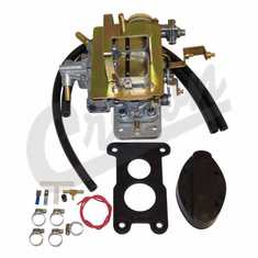( K490 )  Weber Carburetor, 1983-86 Jeep CJ Models, Replaces Rochester 2-Barrel Carburetor by Preferred Vendor