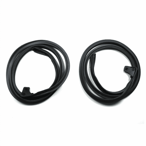 ( KD3052 )  1967-1973 Jeepster Commando Lower Door Seal Kit Drivers & Passengers Side by Preferred Vendor