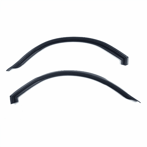 ( KD3056 )  1967-1971 Jeepster Commando Convertible Roof-Rail Seal Kit Drivers & Passengers Side by Preferred Vendor