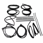 ( KD4006 ) Jeep 1976-1986 CJ5, CJ7, CJ8 Scrambler Weatherstrip Kit with Stationary Vent, 15 Piece Kit by Fairchild
