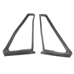 ( KD4022 ) Jeep 1976-1995 CJ5, CJ7, CJ8, Wrangler YJ Vent Window Seal Kit, Driver Side & Passenger Side with Movable Vent by Fairchild
