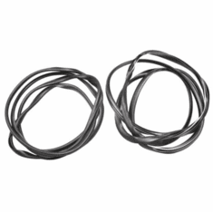 ( KD4026 ) Jeep 1997-2005 Wrangler TJ Inside Windshield Seal Kit with Outer Reveal Molding by Fairchild