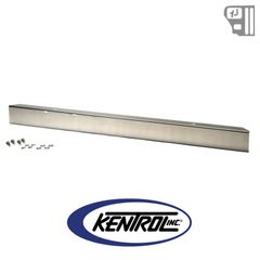 "Kentrol 54"" Front Bumper w/out hole (no license plate holes) Polished Stainless Steel fits 1987-1995 Jeep Wrangler YJ"