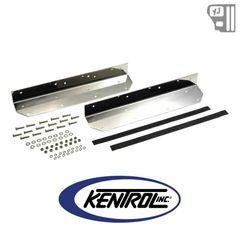 Kentrol Step Cover Inlay (pair) Polished Stainless Steel fits 1987-1995 Jeep Wrangler YJ