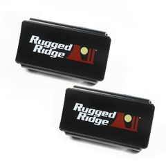 LED Light Cover Kit, 6 Inch, Black by Rugged Ridge