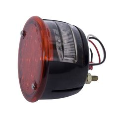 LED Tail Light Assembly, Left Side, 46-75 Willys and Jeep CJ Models by Rugged Ridge