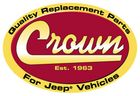 ( 55055033AE ) Left Side Headlight Bucket Assembly w/ Leveling Device, Drivers Side, fits 1997-2006 Jeep Wrangler By Crown Automotive
