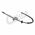( 68024891AB ) Driver Side Rear Emergency Brake Cable for 2005-10 Jeep Grand Cherokee WK & 2006-10 Commander XK By Crown Automotive