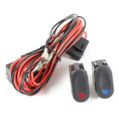 Light Wiring Harness Kit for 2 Lights by Rugged Ridge