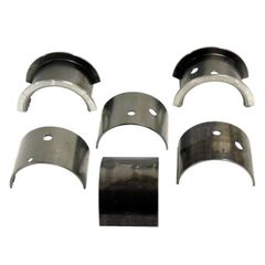 ( A-6747 ) Main Bearing Set (set of 3)  .010 Under size, L-134 & F-134  Fits 1941-71 MB, GPW, M38, M38A1, Willys & Jeep CJ    by Omix-Ada