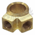 ( A-557 ) Master Cylinder Brass Outlet Fitting, fits 1941-1971 MB, Ford GPW, CJ2A, CJ3A, M38, M38A1, CJ5, CJ6 by Crown Automotive