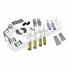 ( 4636777 ) Master Drum Brake Parts Kit, 1978-86 Jeep CJ, 1987-89 Wrangler YJ, 1984-91 Cherokee XJ by Crown Automotive