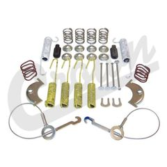 ( 4636778 ) Master Drum Brake Parts Kit, 1986 Jeep CJ Series, 1986-89 Cherokee XJ, 1987-95 Wrangler YJ by Crown Automotive