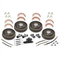Drum Brake Overhaul Kit for 1948-1953 Willys Jeep CJ2A, CJ3A Models