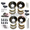 Master Brake Overhaul Kit for 1948-1953 Willys Jeep CJ2A, CJ3A Models