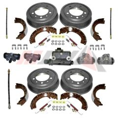 Master Brake Overhaul Kit with Angled Front Hose Connection for 1960-1971 Jeep CJ3B, CJ5, CJ6