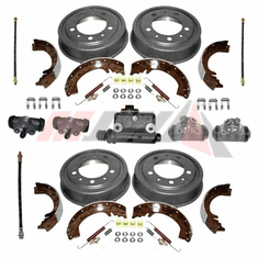 ( MBRK-4 ) Master Brake Overhaul Kit with Angled Front Hose Connection for 1960-1971 Jeep CJ3B, CJ5, CJ6 by Preferred Vendor