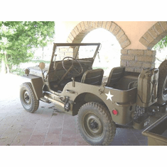 Michele Paese, Rome Italy, Willys MB