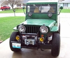 Mike Murray, Peoria Il., Willys CJ2A